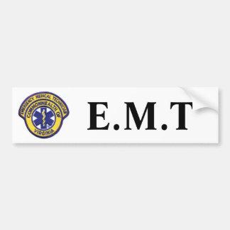 emtpatch, E.M.T Car Bumper Sticker
