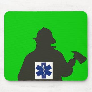 emts and fire department mouse pad