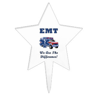 EMT's Are The Difference Cake Topper