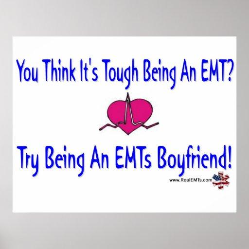EMTs Boyfriend Poster