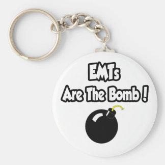 ¡EMTs es la bomba! Llaveros