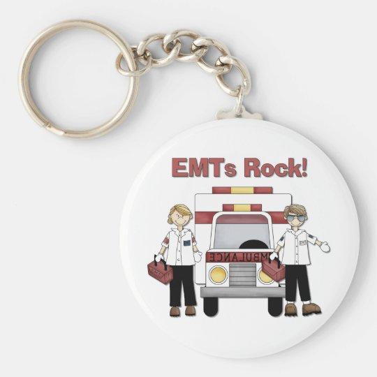 EMTs Rock Keychain