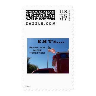 EMT's .. Saving Lives Postage