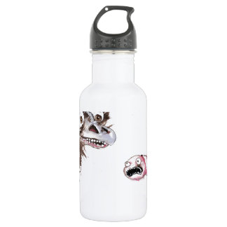 Emu and Worm Water Bottle