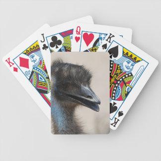 Emu Bicycle Playing Cards