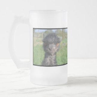 Emu Bird Frosted Mug