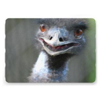 Emu Bird Personalized Invites