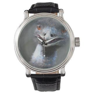 Emu Bird Wrist Watches