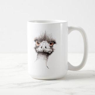 Emu by Inkspot Classic White Coffee Mug