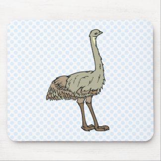 Emu de Elmer Mousepads