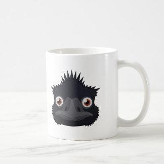 Emu de papel taza de café
