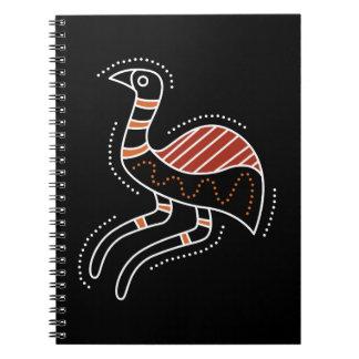 Emu Dotted Design Notebook