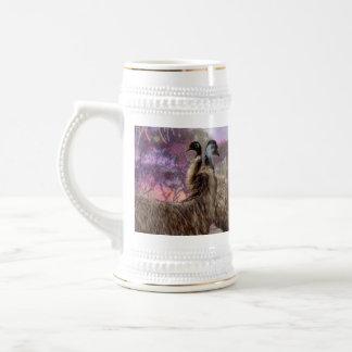 Emu_Dreaming,_White_Beer_Stein_Mug Beer Stein