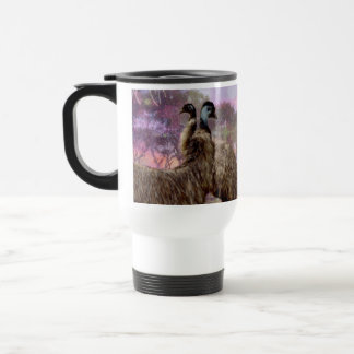 Emu_Dreaming,_White_Commuter_Travel_Coffee_Mug Travel Mug