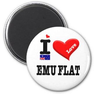 EMU FLAT - I Love Magnet