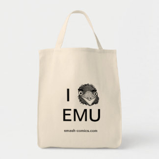 Emu grocery tote grocery tote bag