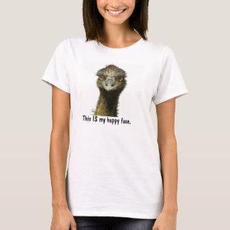 Emu Happy Face T-Shirt