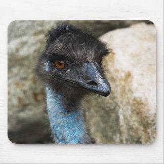 Emu Head Mousepad