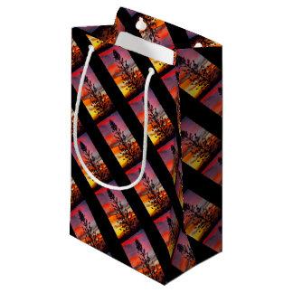 Emu Park sunset silhouette gift bag