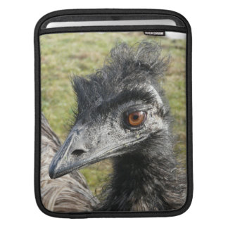 Emu Photo Close Up iPad Sleeve