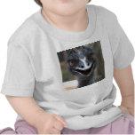 Emu saying HI! Open beak big brown eyes picture Shirt