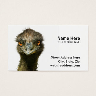 Emu See Business Card