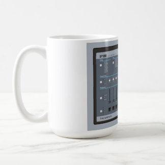 EMU SP-1200 Sampler Classic White Coffee Mug