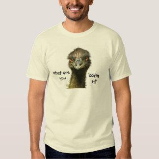 Emu Who You Looking At? T Shirt