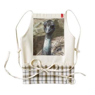 Emu Zazzle HEART Apron