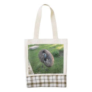 Emu Zazzle HEART Tote Bag
