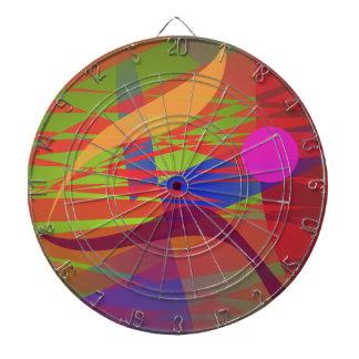 Emulación de Kandinsky Oriental de la composición Tabla Dardos