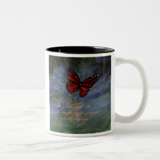 Emulating the Butterfly Two-Tone Coffee Mug