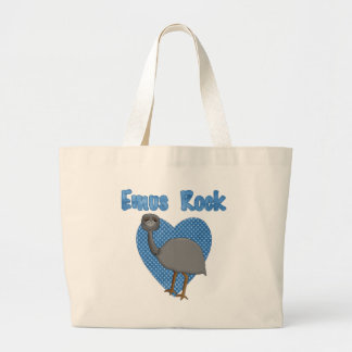 Emus Rock Large Tote Bag