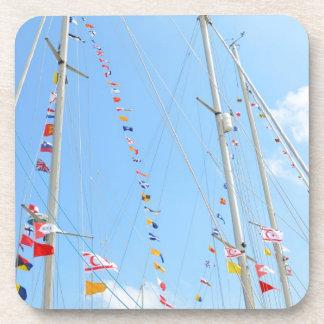 EMYR Signal Flag Bunting Drink Coasters