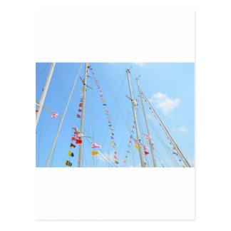 EMYR Signal Flag Bunting Postcard