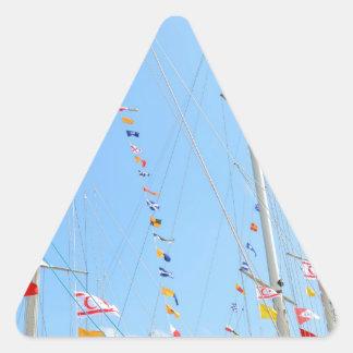 EMYR Signal Flag Bunting Triangle Sticker