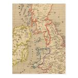 En 1100 de Angleterre, de Ecosse, de Irlande y del Postales