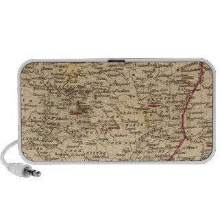 En 1809 del d'Italie del imperio Francais y de Roy Notebook Altavoz