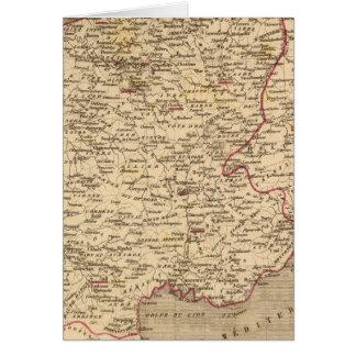 En 1809 del d'Italie del imperio Francais y de Roy Tarjeton