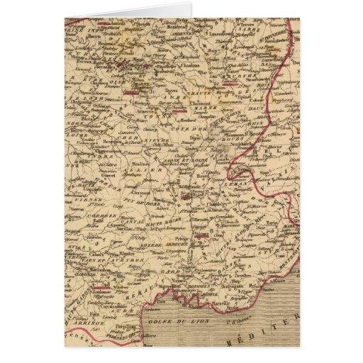 En 1809 del d'Italie del imperio Francais y de Roy Tarjeta De Felicitación