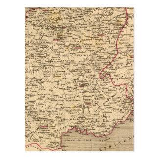 En 1809 del d'Italie del imperio Francais y de Roy Postal