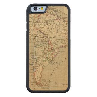 En 1840 de Amerique Meridionale Funda De iPhone 6 Bumper Arce