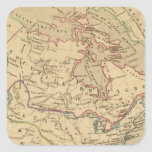 En 1840 de Amerique Septentrionale Calcomanías Cuadradases