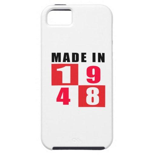 En 1948 diseños hechos del cumpleaños funda para iPhone 5 tough