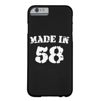 En 1958 iPhone hecho 6/6s Funda Barely There iPhone 6