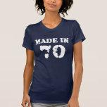 En 1970 camisa hecha