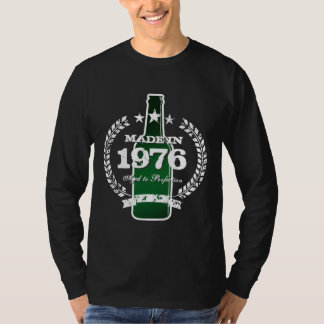 En 1976 camisa hecha el | del año del nacimiento