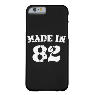En 1982 iPhone hecho 6/6s Funda Barely There iPhone 6