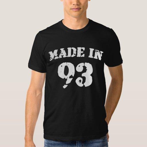 En 1993 camisa hecha