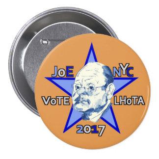 En 2017 Joe Lhota para el alcalde de NYC Pin